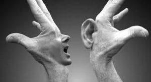 نشنیدن و ندیدن در رابطه زناشویی